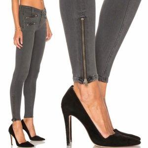 rag & bone Exposed Zipper Jean in Seattle